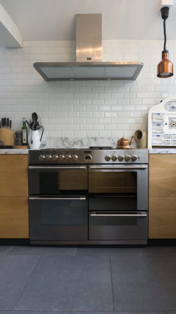 Moderne keuken Driehuizen Eiken Marmer 3