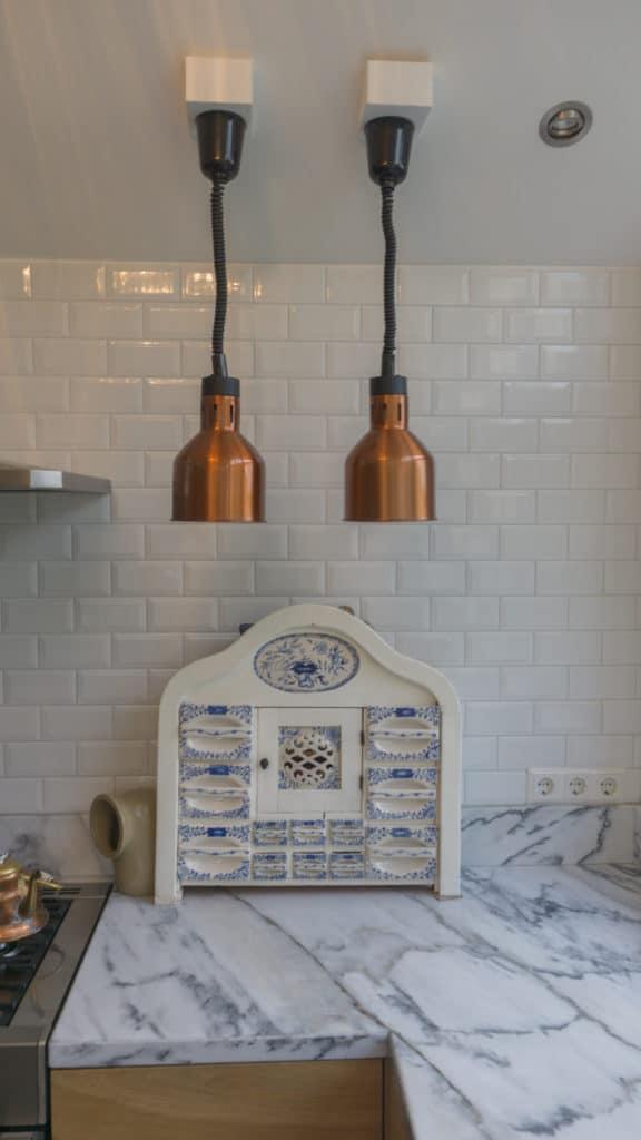 Moderne keuken Driehuizen Eiken Marmer 1